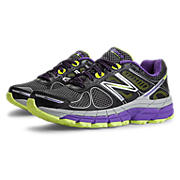 New Balance Trail 860v4, Black with Purple