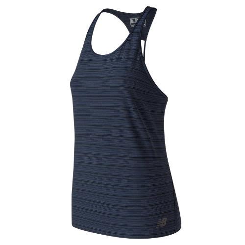 New Balance 91215 Women's Q Speed Breathe Striped Tank - (WT91215)