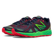Fresh Foam 980 Trail, Bright Cherry with Lead & Green Flash
