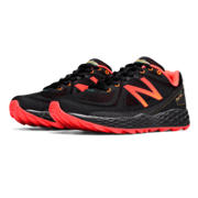 NB Fresh Foam Hierro, Black with Orange