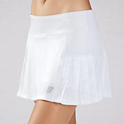 Montauk Skort, Bright White with Celestial Blue