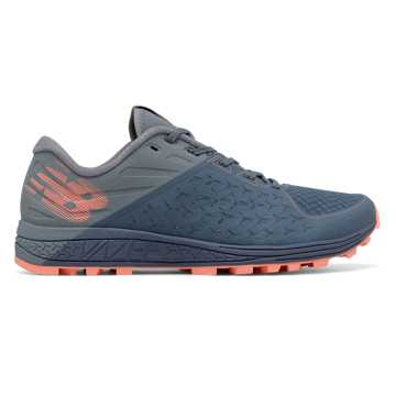 New Balance Vazee Summit Trail v2, Deep Porcelain Blue with Reflection & Bleached Sunrise
