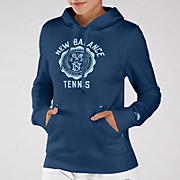 Bookstore Hoodie, Medieval Blue with Celestial Blue