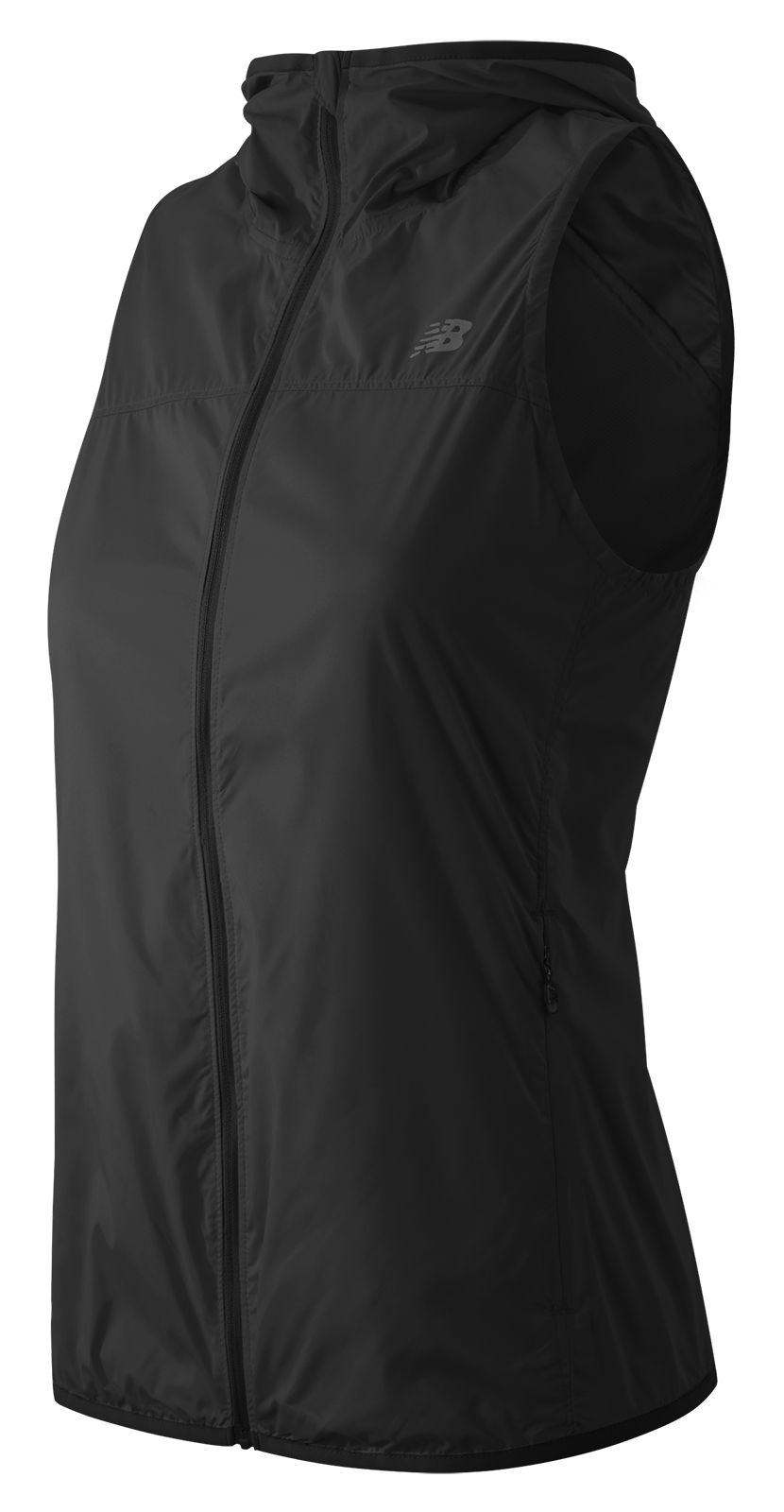 New Balance : Windcheater Vest : Women's Apparel Outlet : WV53112BK