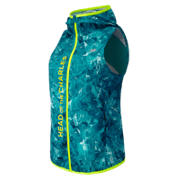 HOCR Windcheater Vest, Sea Glass Print