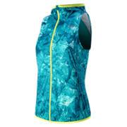Windcheater Vest, Sea Glass Print