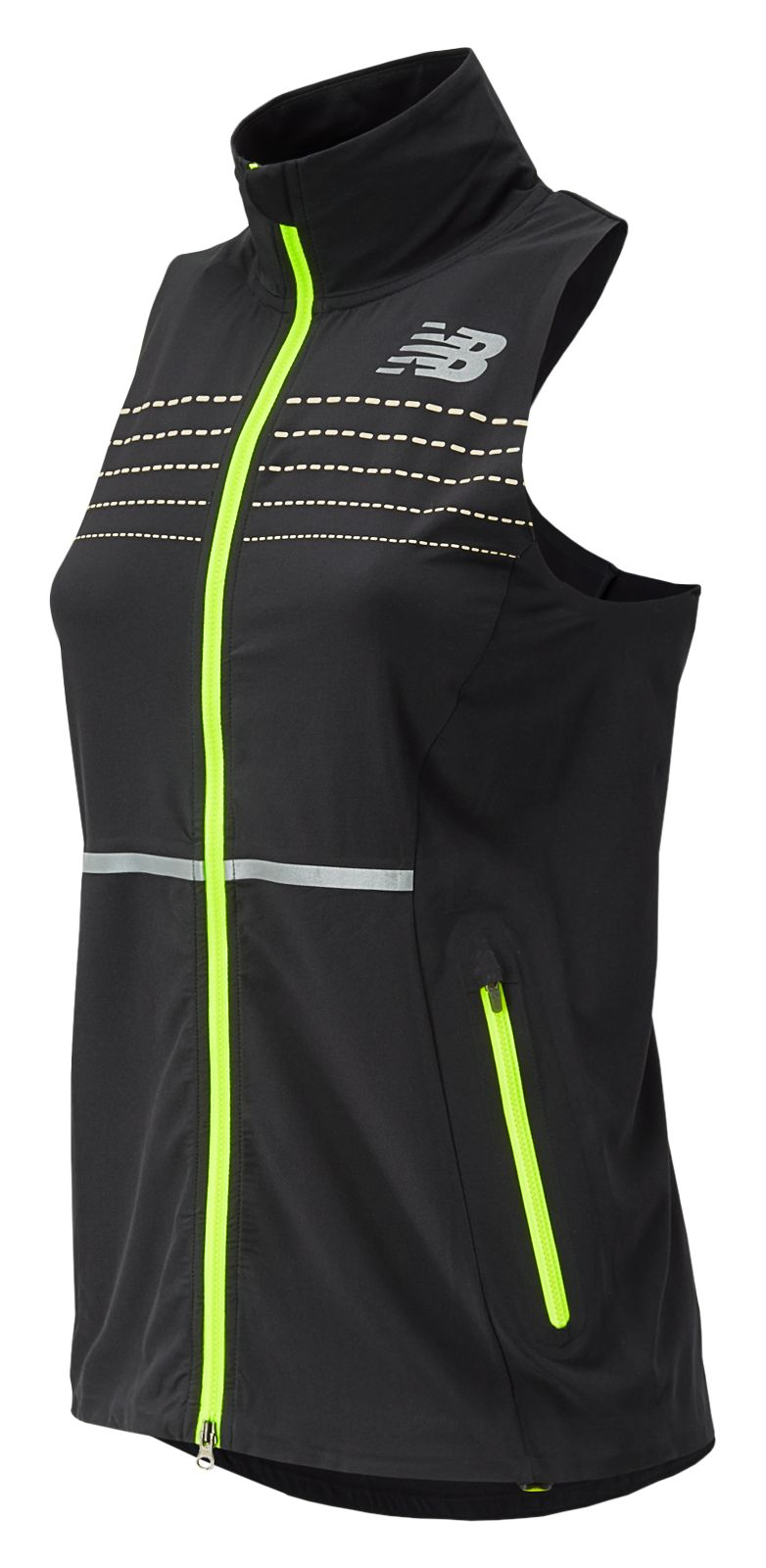 New Balance : Beacon Vest : Women's Apparel Outlet : WV53201BK