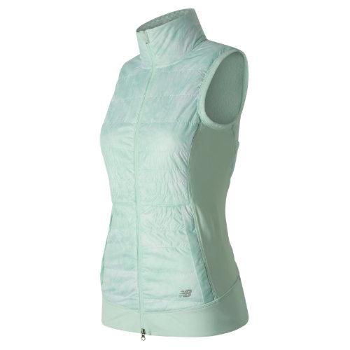 New Balance : NB Heat Hybrid Vest : Women's Apparel Outlet : WV63121DFP
