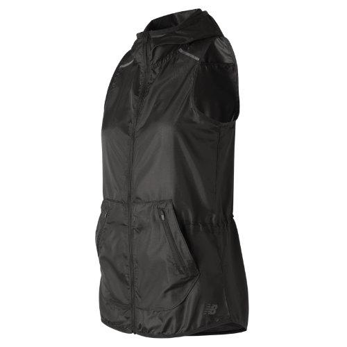 New Balance Windcheater Vest Girl's All Clothing - WV71101BK