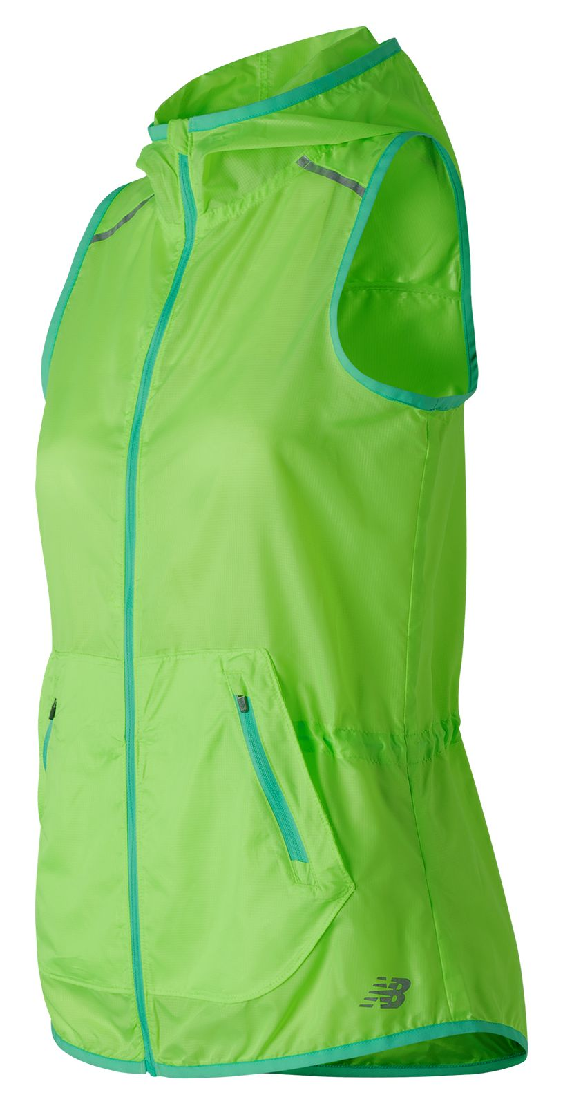 New Balance : Windcheater Vest : Women's Performance : WV71101LIG