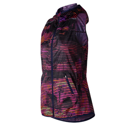 New Balance Windcheater Printed Vest Girl's All Clothing - WV71164SVL