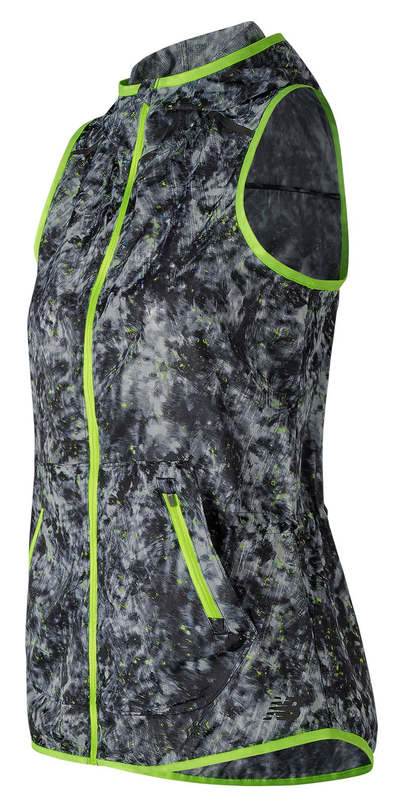 New Balance : Windcheater Printed Vest : Women's Performance : WV71164WDF