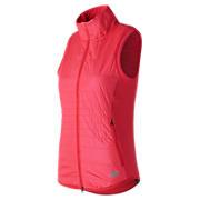 NB Heat Hybrid Vest, Red