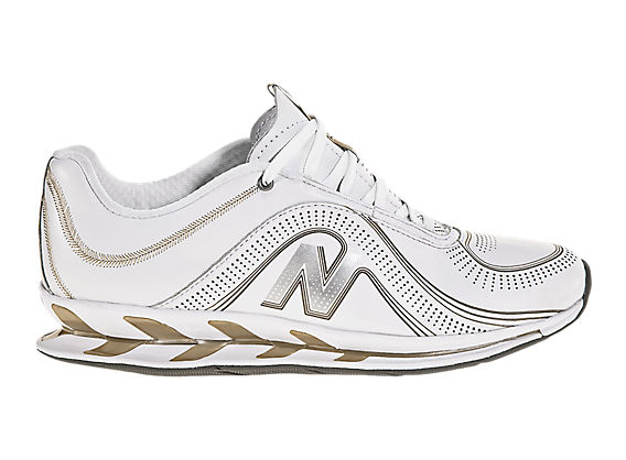 New Balance 1101, White with Gold