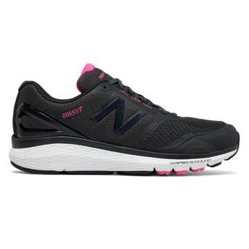 New Balance Pink Ribbon 1865, Black with White & Komen Pink