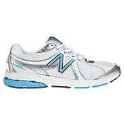 New Balance 665, White with Blue