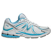 New Balance 775, White with Light Blue