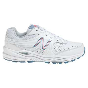 New Balance New Balance 840, White with Pink & Light Blue