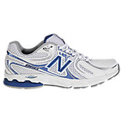 New Balance 860, White with Blue
