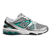 New Balance 1012, Silver with Green