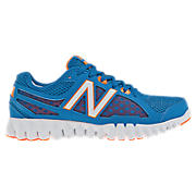 NBGruve 1157, Kinetic Blue with White & Orange