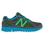 NBGruve 1157, Grey with Bay Blue & Neon Green