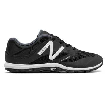 New Balance Minimus 20v6 Trainer, Black with White & Thunder