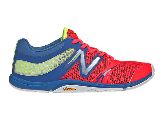 Minimus 20v3 Cross-Training, Blue with Diva Pink & Yellow