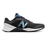 Minimus 40 Trainer, Black with Majestic Blue & Spectral