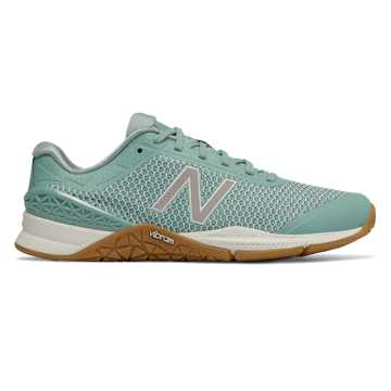 Minimus 40 Trainer, Ocean Blue with Sage & Gum Rubber