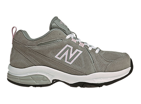 New Balance 608, Grey with Pink