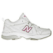 New Balance 608v3, White with Pink