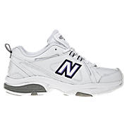 New Balance 608v3, White with Navy