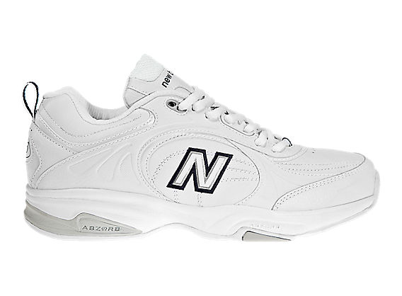 New Balance 623, White with Navy