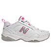 New Balance 624, White with Pink