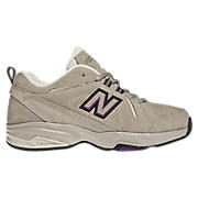 New Balance 624, Beige with Purple & Brown