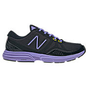 New Balance 677, Black with Purple