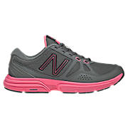 New Balance 677, Grey with Komen Pink