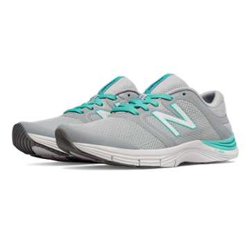New Balance New Balance 711v2 Mesh Trainer, Silver Mink with Aquarius