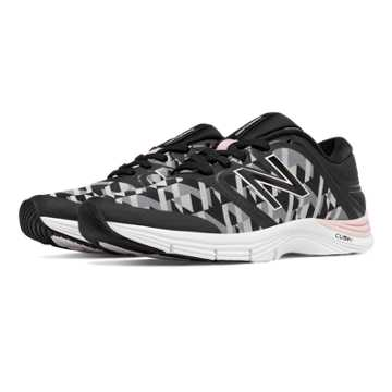 New Balance New Balance 711v2 Graphic Trainer, Black with White & Light Grey
