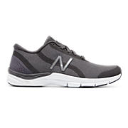 New Balance 711v3 Trainer, Charcoal with Silver