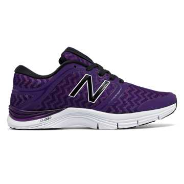 New Balance New Balance 711v2 Graphic Trainer, Black Plum with Violet Glo