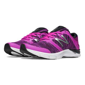 New Balance New Balance 711v2 Graphic Trainer, Azalea with Black
