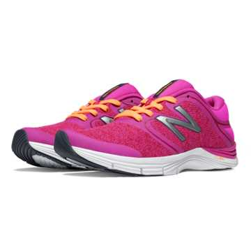 New Balance New Balance 711v2 Heathered Trainer, Azalea with Impulse