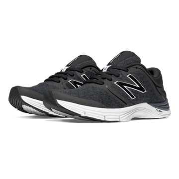 New Balance New Balance 711v2 Heathered Trainer, Black with Thunder