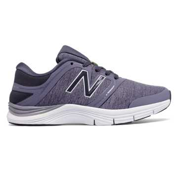 New Balance New Balance 711v2 Heathered Trainer, Cosmic Sky with Heather Charcoal