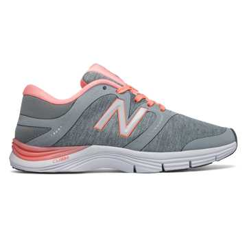 New Balance New Balance 711v2 Heathered Trainer, Silver Mink with Bleached Sunrise
