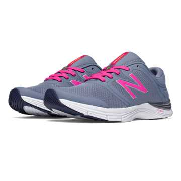 New Balance New Balance 711v2 Mesh Trainer, Grey with Azalea