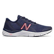 New Balance 711v3 Trainer, Pigment with Pink Zing