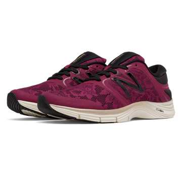 New Balance New Balance 711v2 Lace Trainer, Deep Jewel with Black
